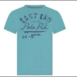 RALPH LAUREN CRUISE COLLECTION BOYS GRAPHIC TEE